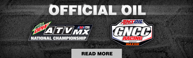 AMSOIL official oil for atv national championship and gncc racing